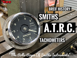 Brief History: Smiths ATRC Tachometers