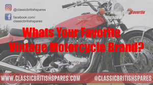 What Is Your Favorite Vintage Motorcycle Brand?
