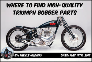 Where to Find High-Quality Triumph Bobber Parts