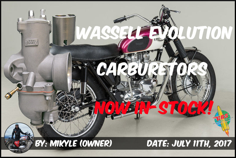 Wassell Evolution Carburetors Now In-Stock