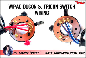 Wipac Ducon & Tricon Switch Wiring