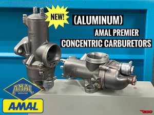 New Product: (Aluminum) Amal Premier Concentric Carburetors