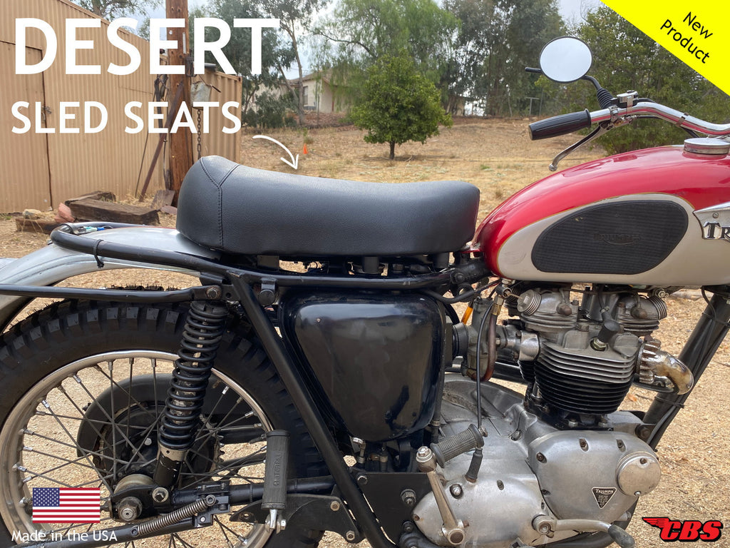 New To The Market: Desert Sled Seats