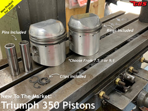 New To The Market: Triumph T90 & 3TA Pistons