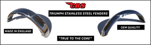 Triumph Stainless Steel Fenders
