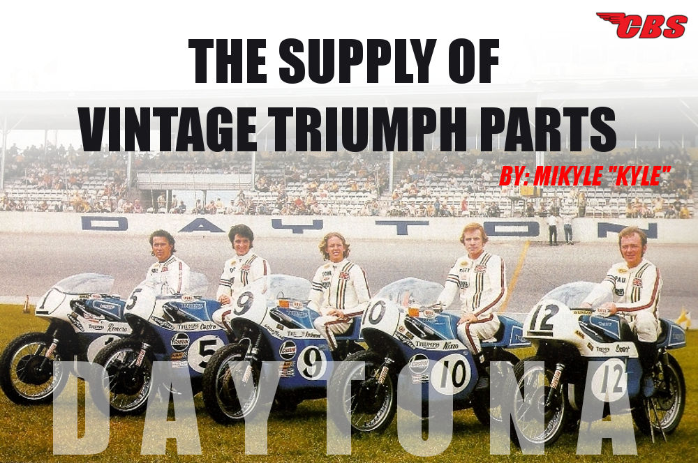 The Supply Of Vintage Triumph Parts