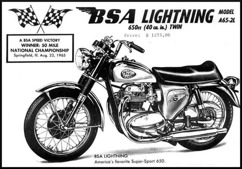 bsa bsa unit twins where produced from 1962-1972  each parts book includes