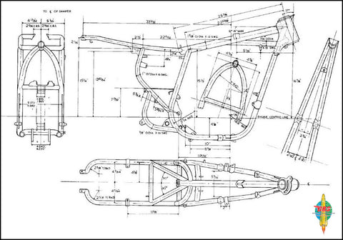 BSA A65 Frame Blue Print_large?v=1494215443 why the 1970 bsa a65 is the best year  at creativeand.co