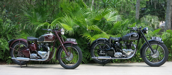 1948 Triumph Twins - Bike of The Week