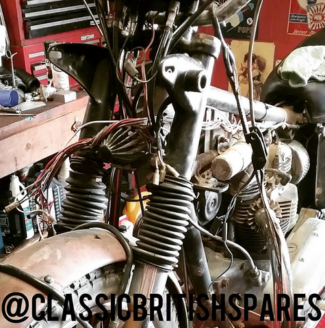 Uncovering An Original 1968 Triumph Tiger TR6R Motorcycle on