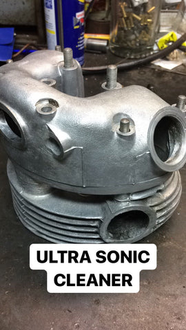 Ultrasonic Cleaner Cleaned Cylinder Head