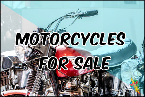 Motorcycles For Sale Banner