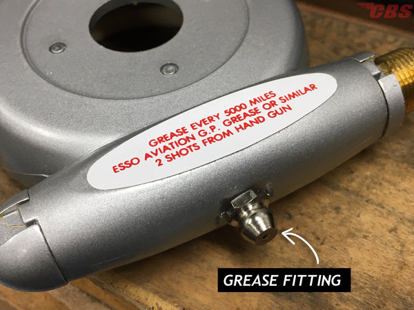 Smiths Speedometer Drive Grease Fitting
