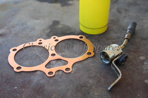 BSA Copper Head Gasket With Mapp Gas By Bernzomatic