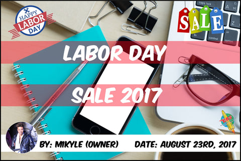 Labor Day Sale Top Banner