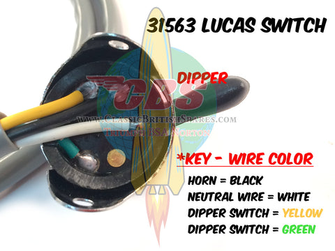 31563 LUCAS SWITCH WIRING DIAGRAM