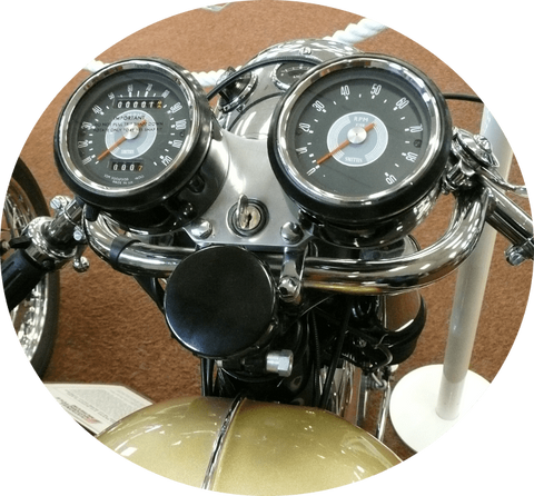 1965 BSA Lightning Clubman Top View