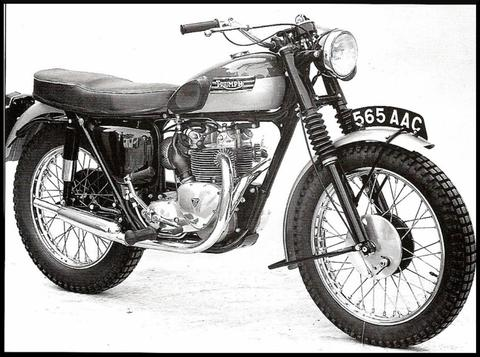 Triumph engine number dating