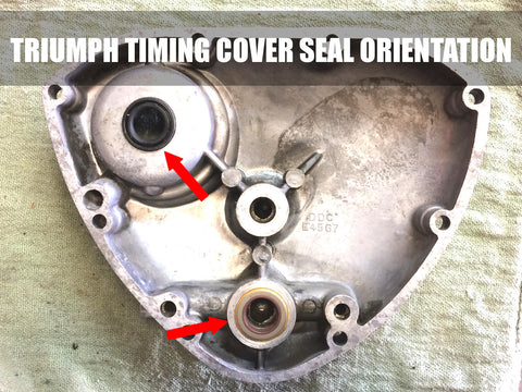 Image result for triumph timing cover seal