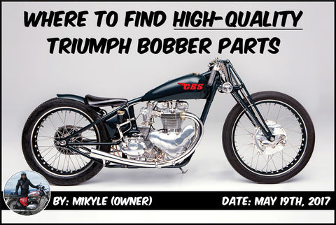 Triumph Bobber Parts Top Banner