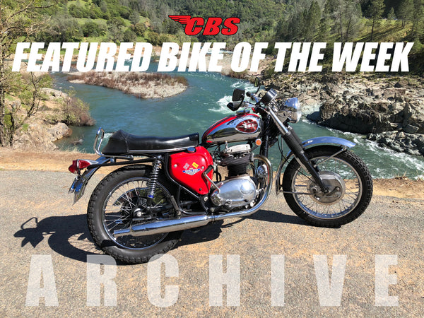 Featured Bike Of The Week