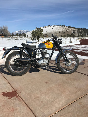 1967 BSA B44 Enduro