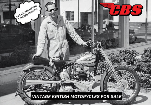 Vintage Motorcycles For Sale