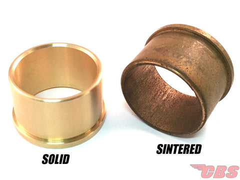 Solid And Sintered Bushings Comparison