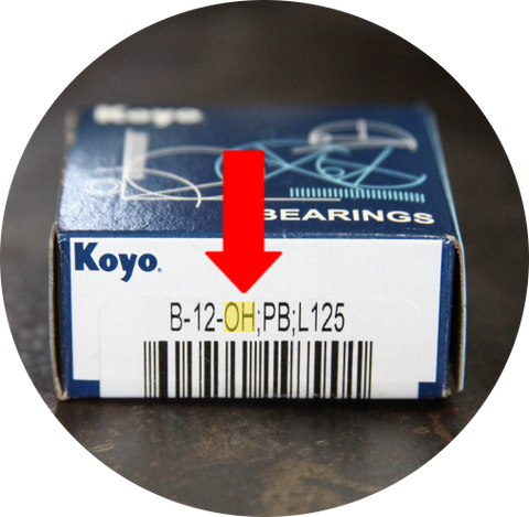Koyo Needle Bearing With Oil Hole Box Picture
