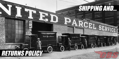 Shipping & Return Policy Vintage UPS Photo