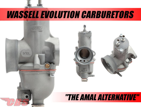 Wassell Evolution Carburetors - Amal Alternative