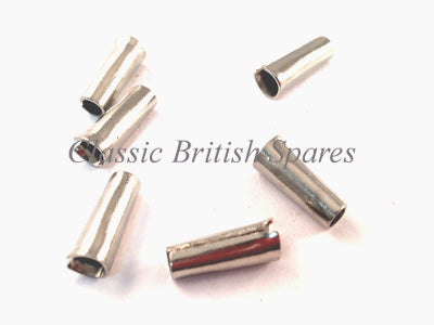 Brass Electrical Bullet Connector British Classic Motorcycle Crimp Lucas Style