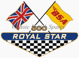 BSA Restoration Tool Box / Oil Tank / Side Panel Decals (1) - Choose Decal Type