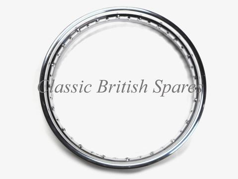 Triumph Rear Chrome Rim By Jones 37-1007