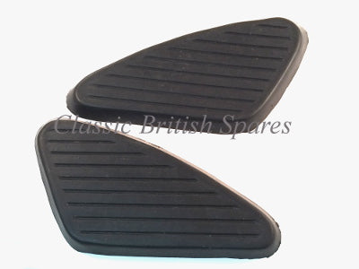 Black BSA Gas Tank Knee Pads 40-8029/30