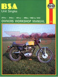 1958-1972 BSA C15 B40 B25 B44 Haynes Manual