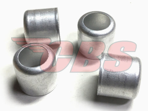 "CAD Plated 9/16"" Fuel Line Ferrules"