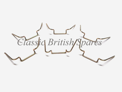 "Lucas Type Triumph Headlamp Fixing Wire Clips ""6"" 504665 BSA Norton Matchless"