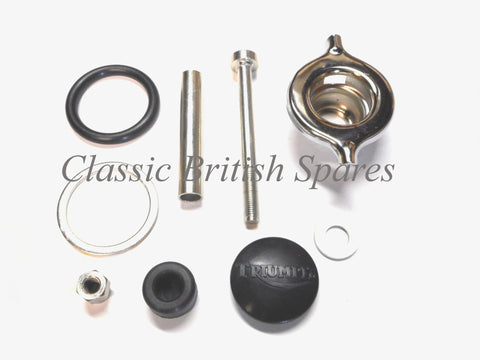 Triumph BSA OIF 650 Twins Petrol Gas Tank Mounting Kit 83-3318A 1971-73 A65 T120