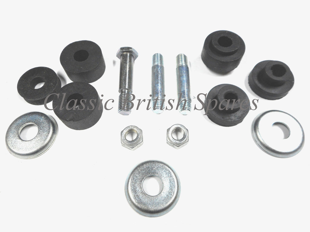 Triumph Twins Complete Gas Tank Mounting Kit 1968 74 T100 T120