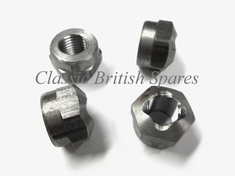 "Triumph CEI Connecting Rod Nuts (4) 70-2922 - 5/16"" X 26 CEI - 1955-68"