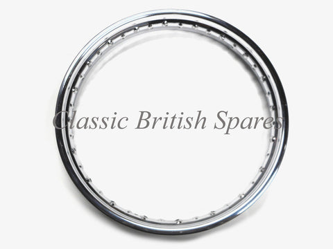 Triumph Rear Chrome Rim WM3 X 18  37-1007 - Central