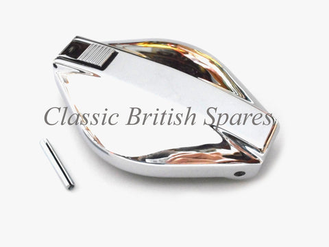 BSA / Norton Commando Chrome Flip-Top Gas Cap - 06-0681