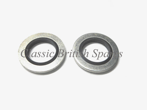 "Triumph / BSA ""OIF"" Front Fork Lower Stato Seals (2) -  97-4004 - 1971-82"