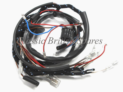 BSA A50 / A65 Lucas Type Main Cloth Wiring Harness - 54950625 -1967 Only