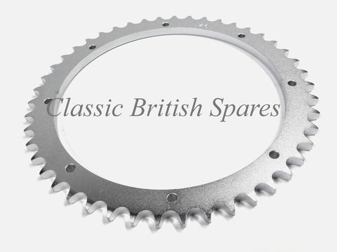 "Triumph Twins Rear ""Bolt-On"" Sprocket 46 Tooth (1) - 37-1499 - TR6 / T100 / T120"