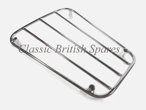 Triumph Pre-Unit Twins Chrome Parcel Grid Rack (1) - 82-2933 - 1949-56 - 5T / 6T / T110
