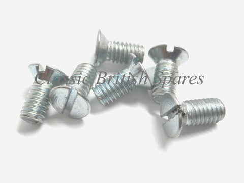 Clutch Inner Window Fixing Screws (6) - 70-3821 - C15 / B44 / A65 / T100 / T120 / T140