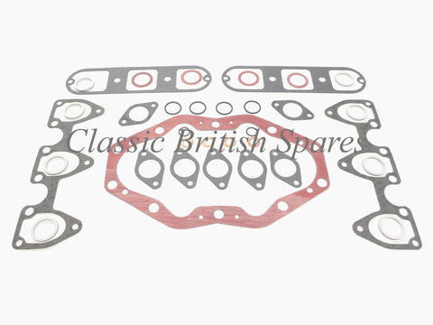 Triumph / BSA Triples Top End Gasket Set - 1968-76 - A75 / T150 / T160 - USA Made