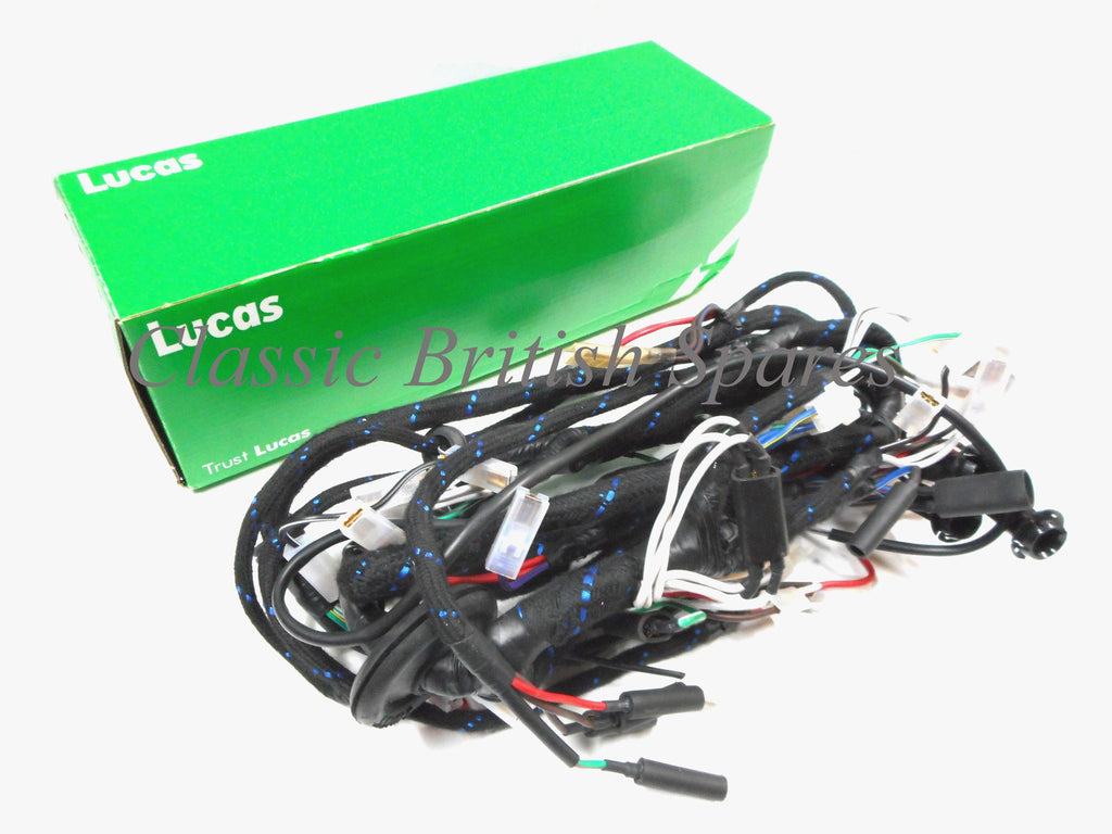 Triumph T140 Tr7 Lucas Wiring Harness 54962258 54961593 19 19662 Electrical Genuine 1962 99 1259
